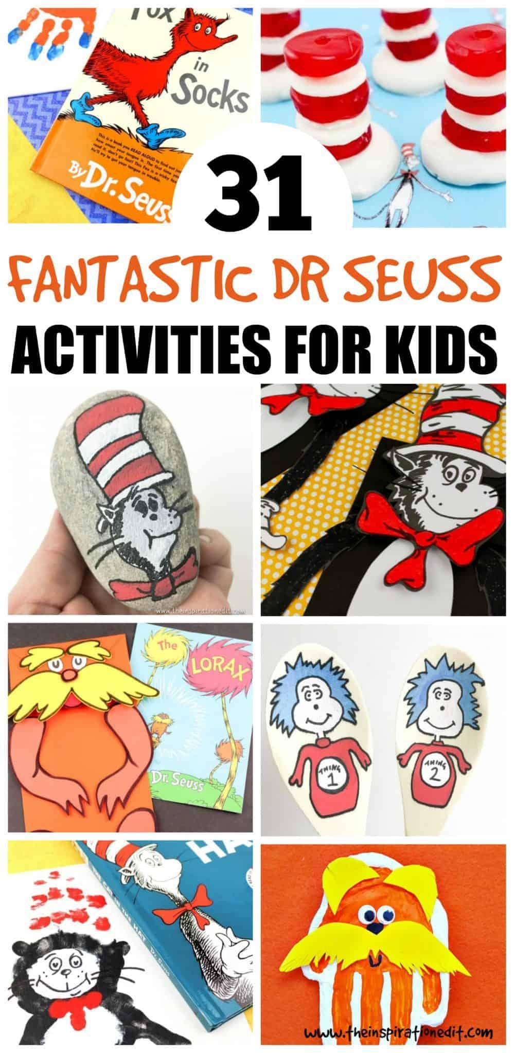 dr seuss day activities