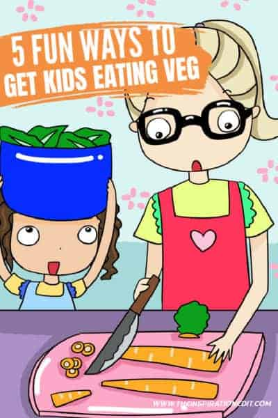 fun ways to get kids to eat vegetables