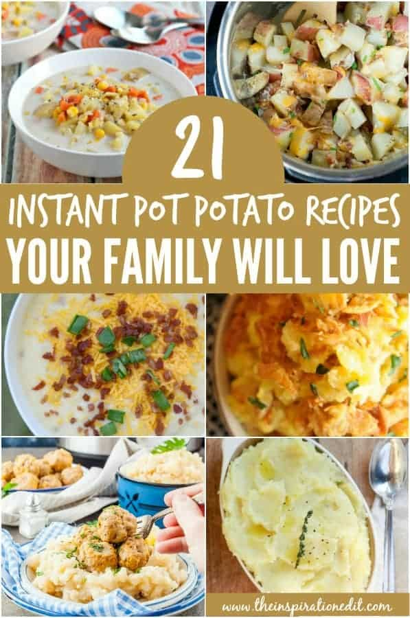 instant pot recipes using potatoes