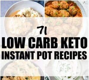 low carb keto instant pot recipes