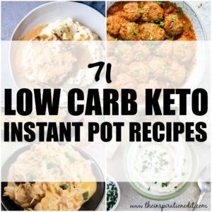 low carb keto instant pot recipes