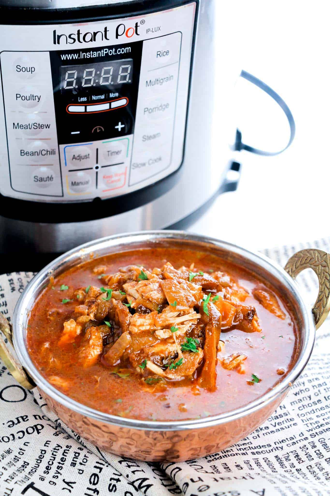 This is an Easy Instant Pot Chicken Stew Recipe the whole family will love!
