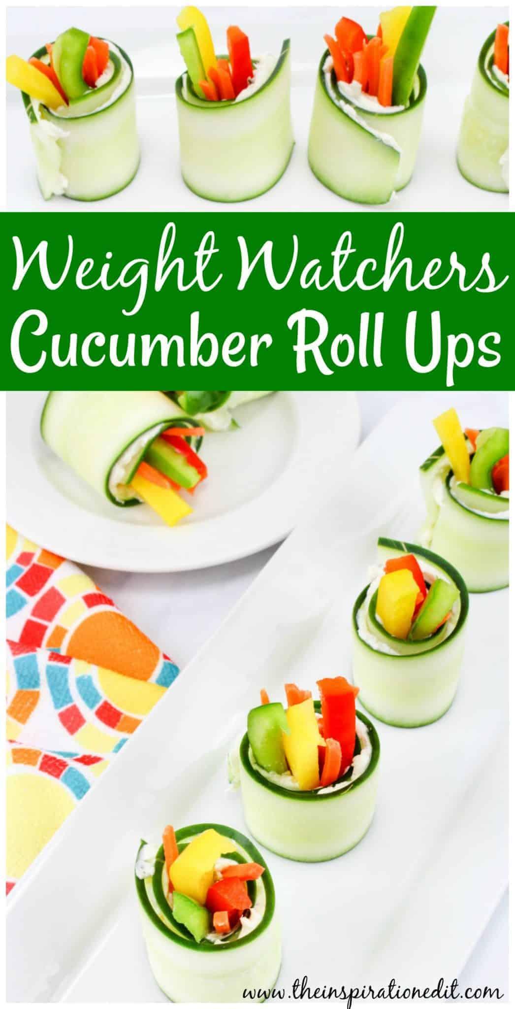 weight watchers cucumber bite bites