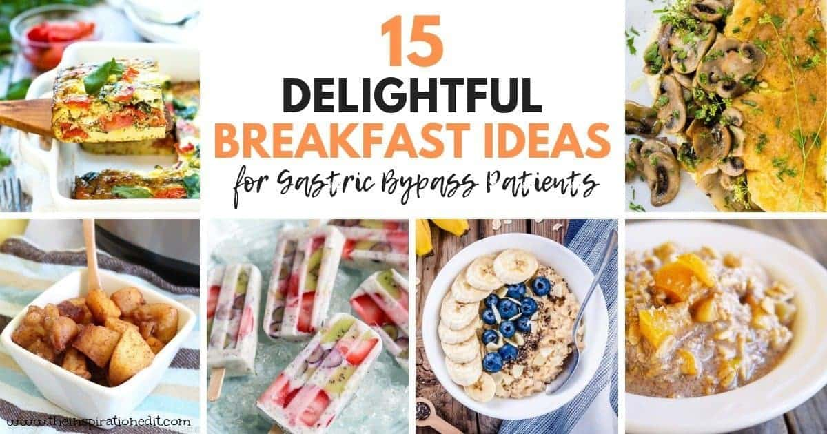 gastric bypass breakfast recipes