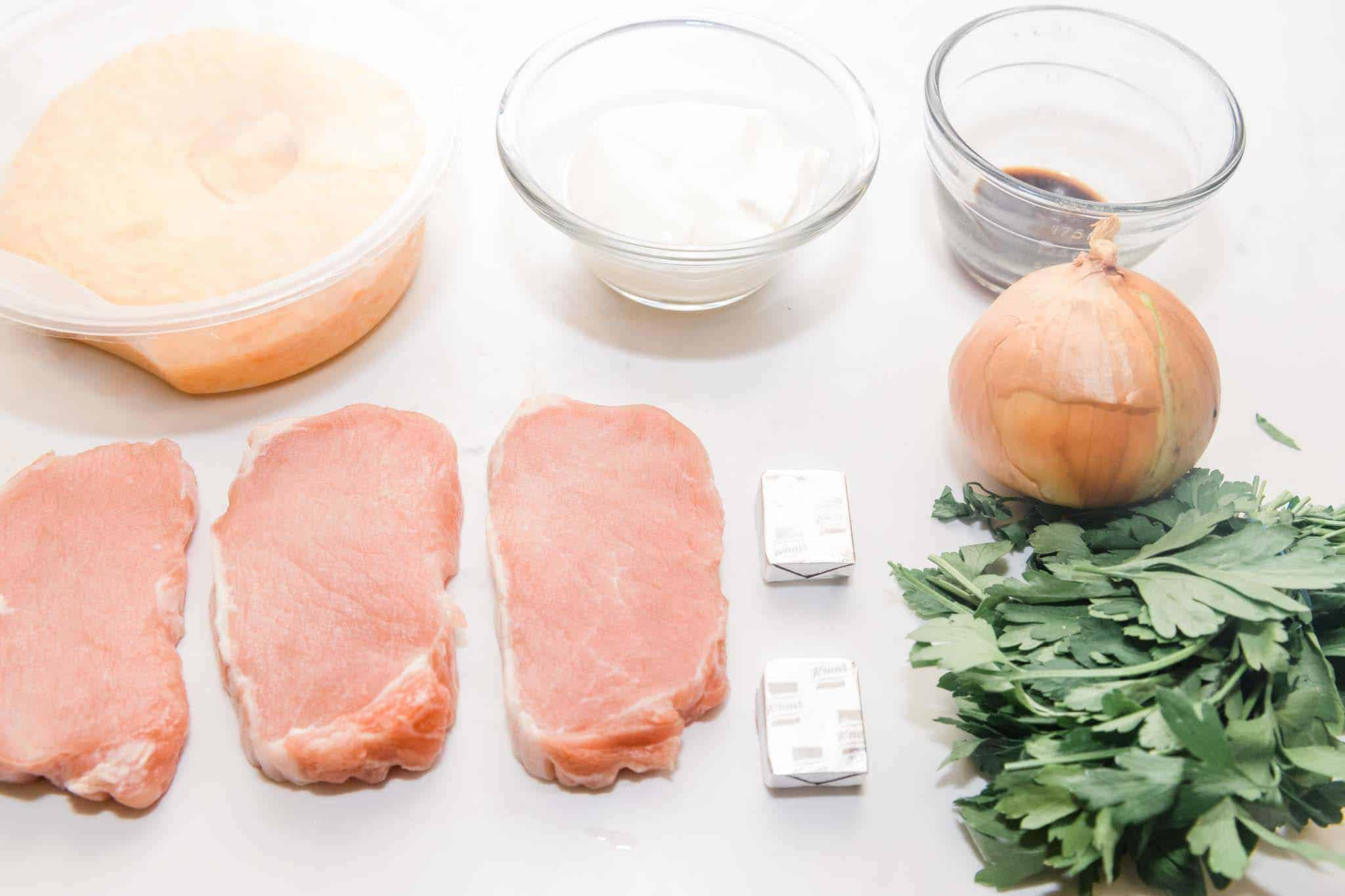 creamy instant pot pork chops