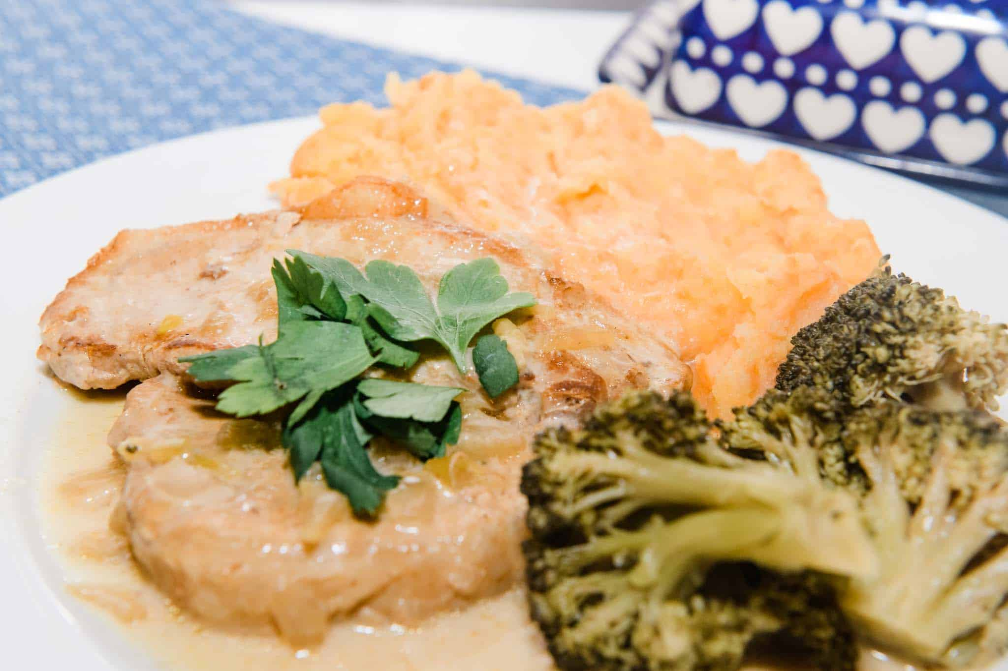 creamy instant pot pork chops
