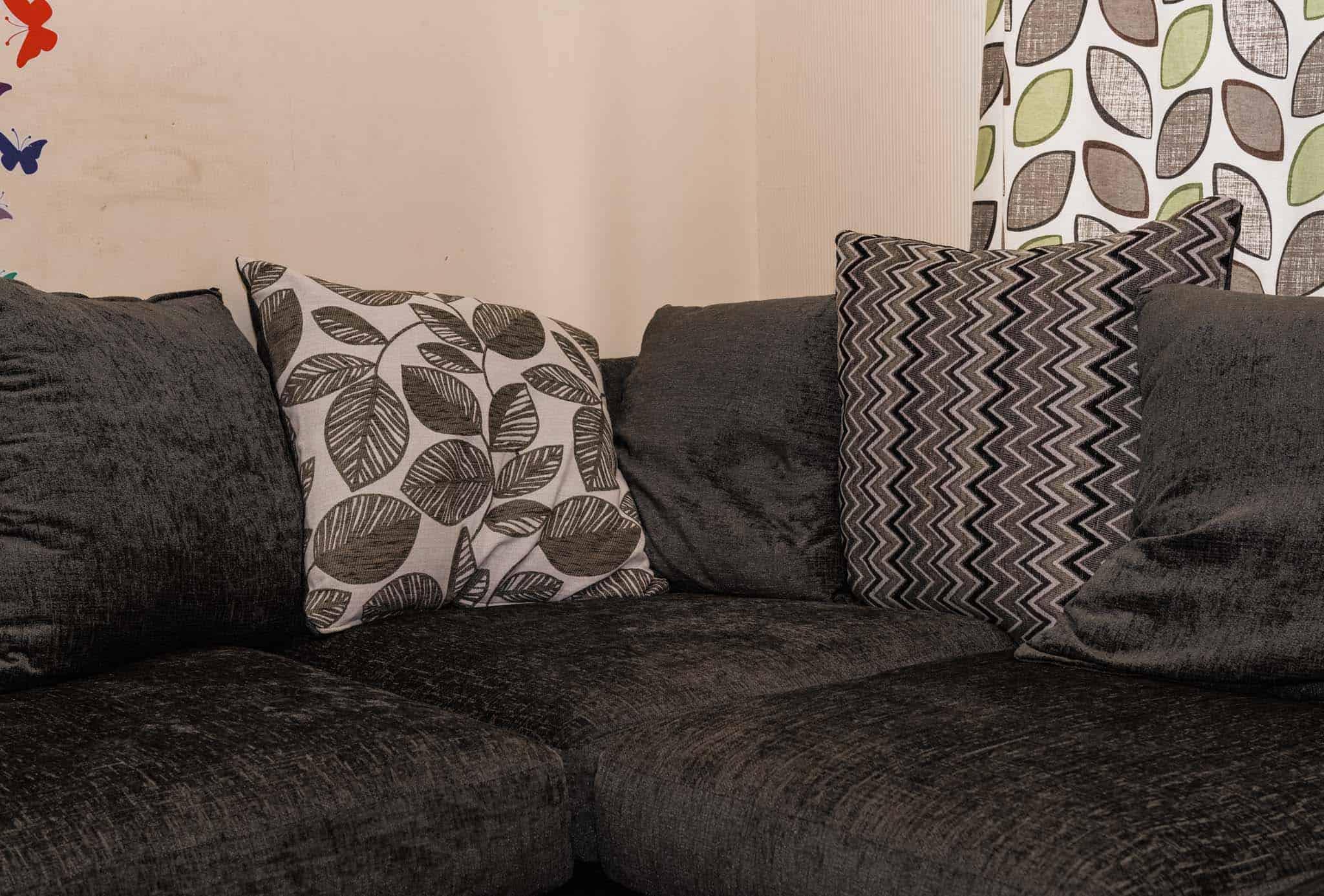 Zig Zag Striped Cushions