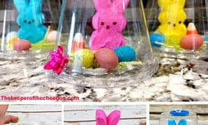 Easter Peeps Snow Globe Treat
