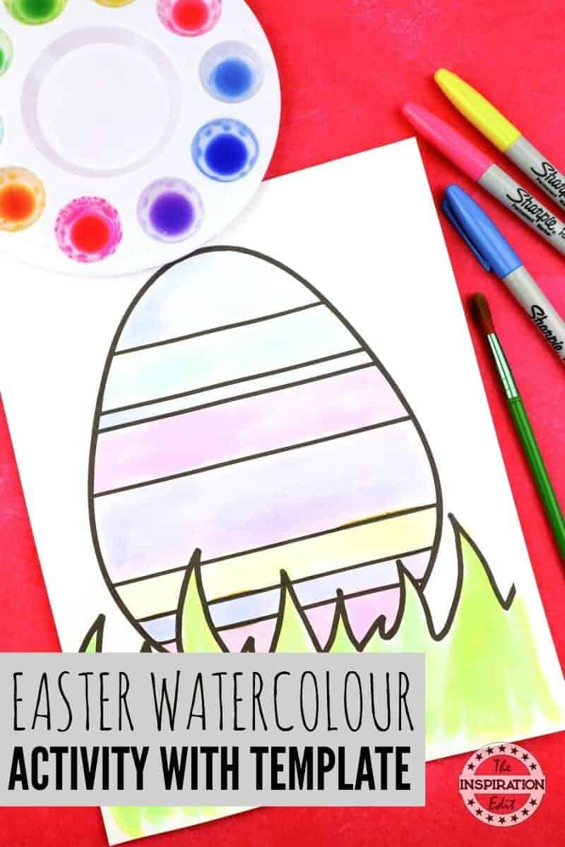 EASTER WATERCOLOUR ACTIVITYEASTER WATERCOLOUR ACTIVITY