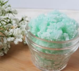 cucumber mint sugar scrub