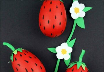 strawberry craft ideas for kids