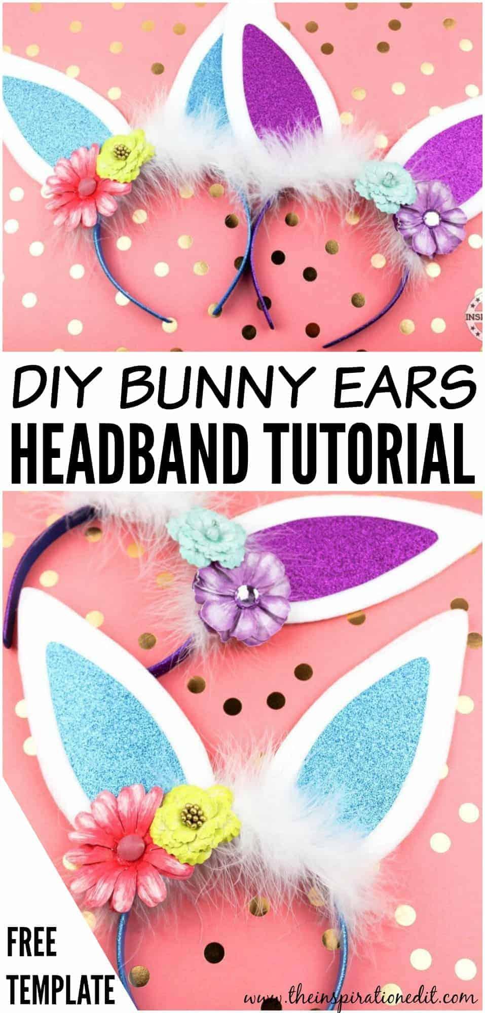 diy easter bunny ears headband