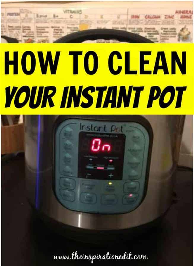 Here are my awesome and easy how to clean instant pot tips!