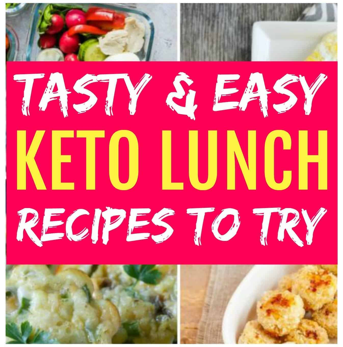 easy keto lunch recipes