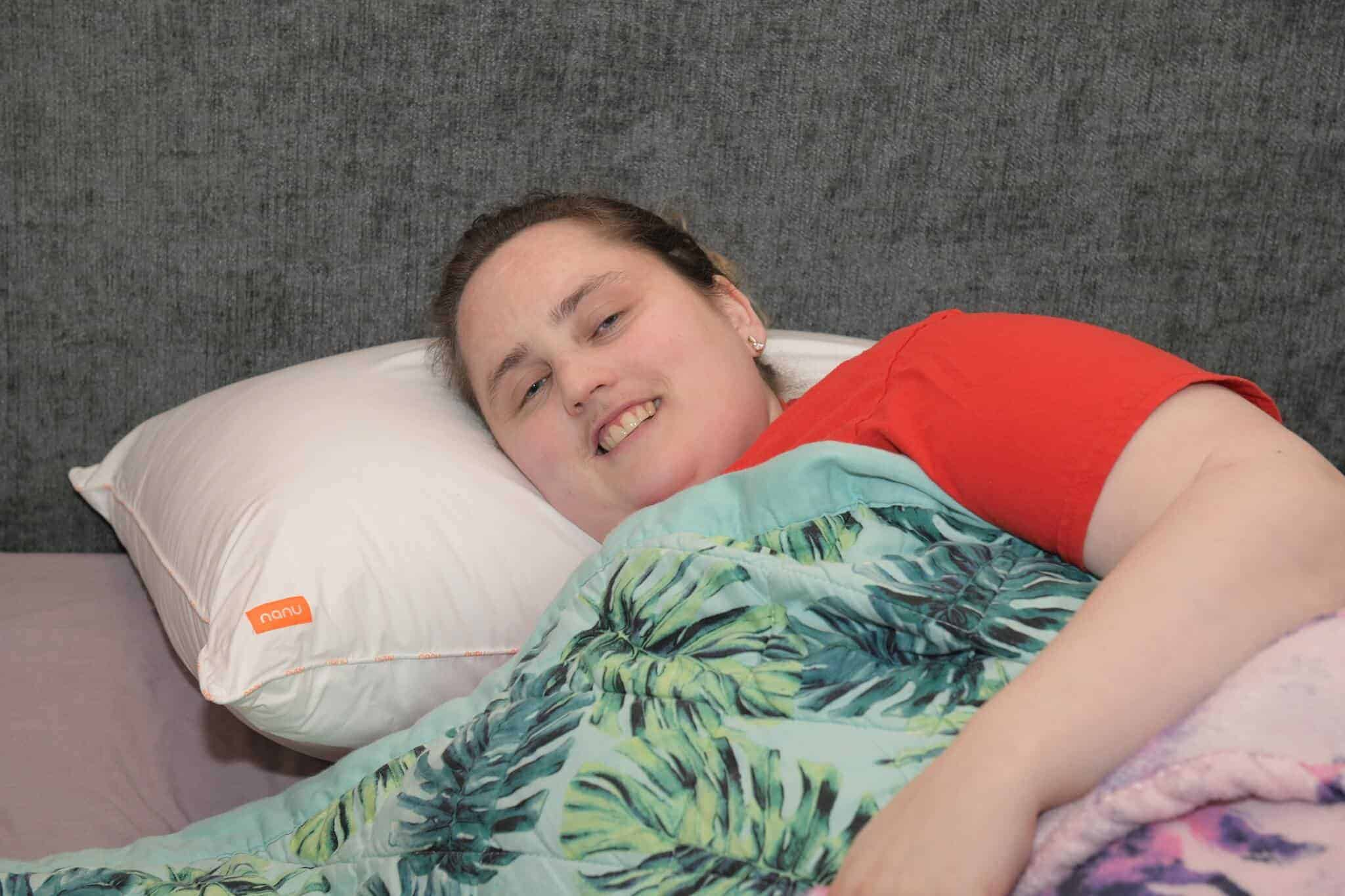 nanu personalised pillow