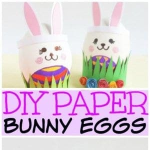 easter bunny eggs craft