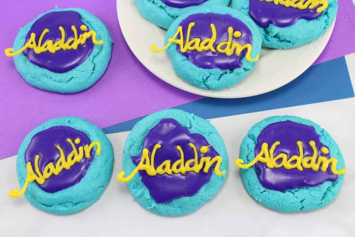 Disney Inspired Aladdin Cookies 183 The Inspiration Edit