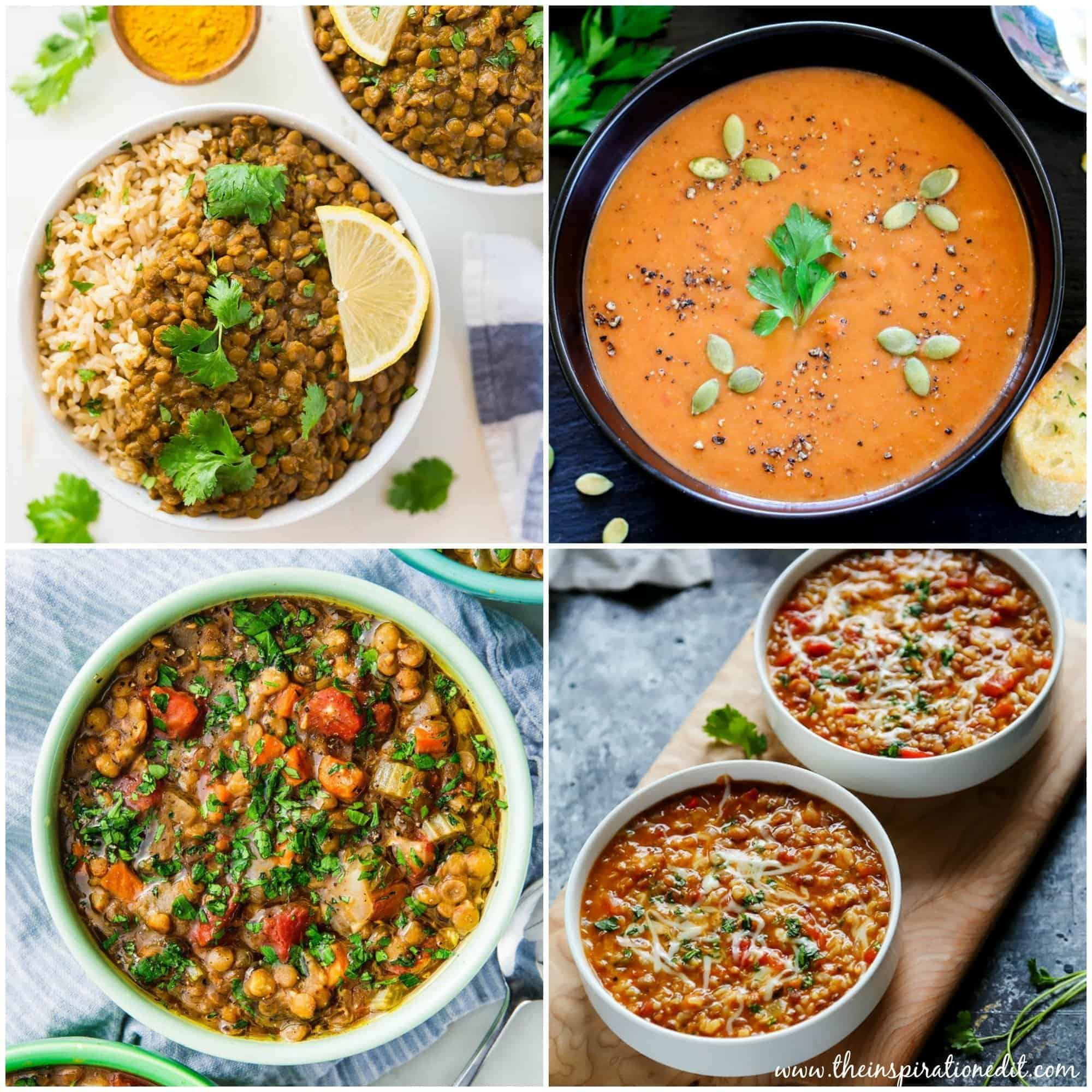 lentil recipes in the instant pot