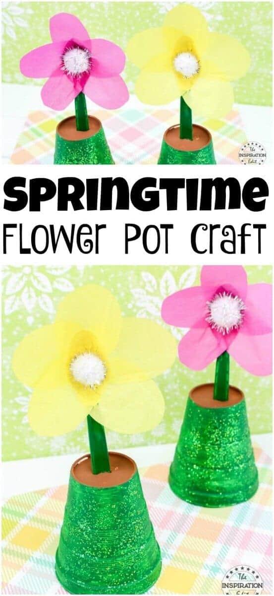 springtime flower pot craft