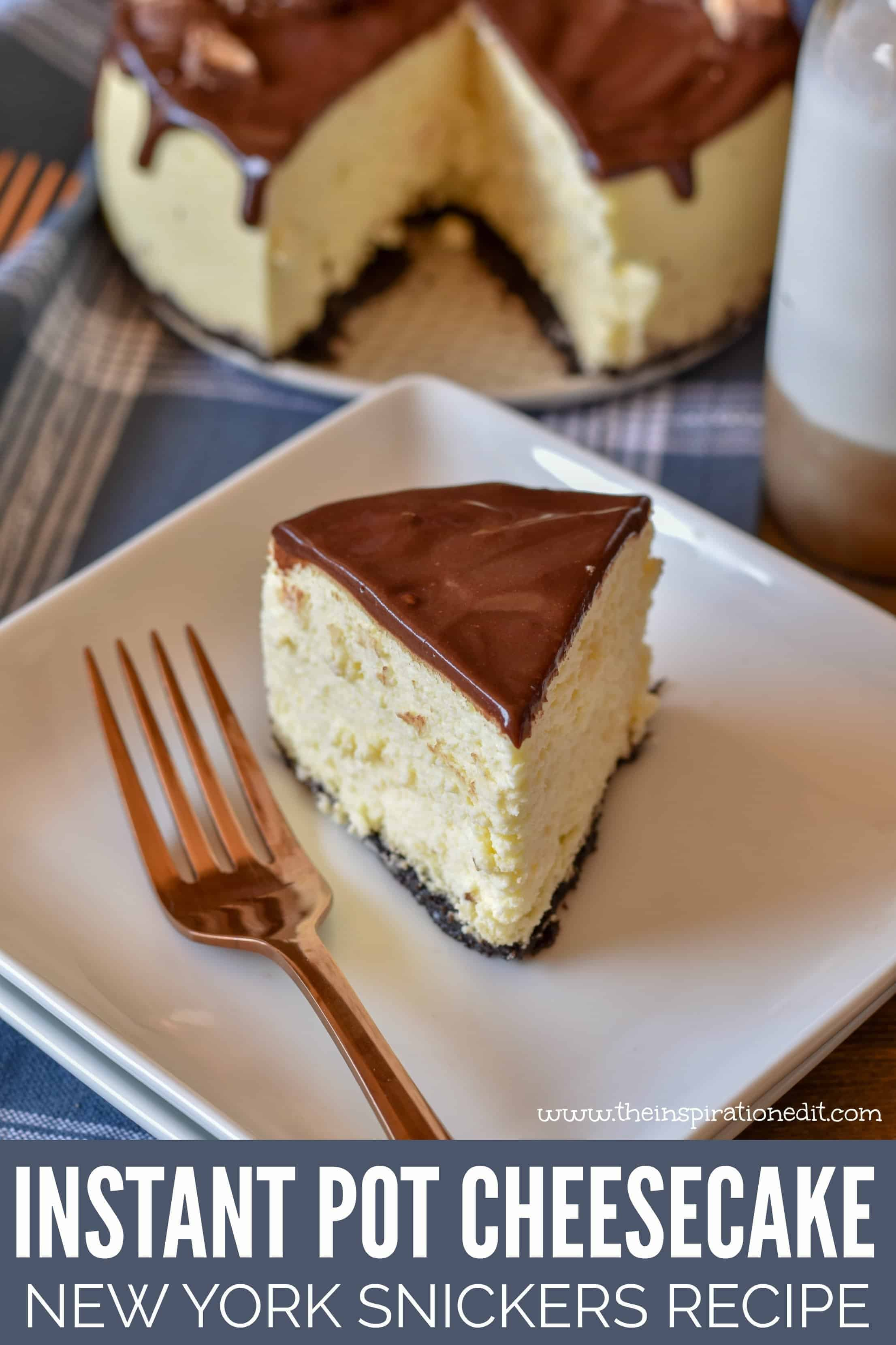 instant pot cheesecake recipe