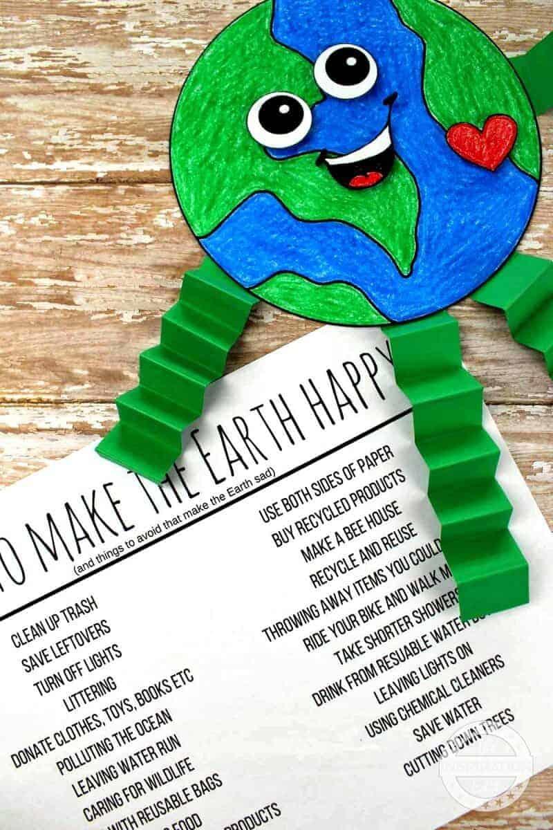 earth day activity for preschool kids