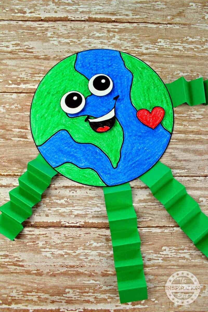 earth day craft for preschool kids