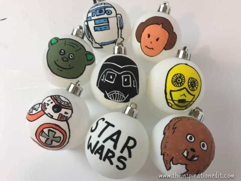 star wars baubles