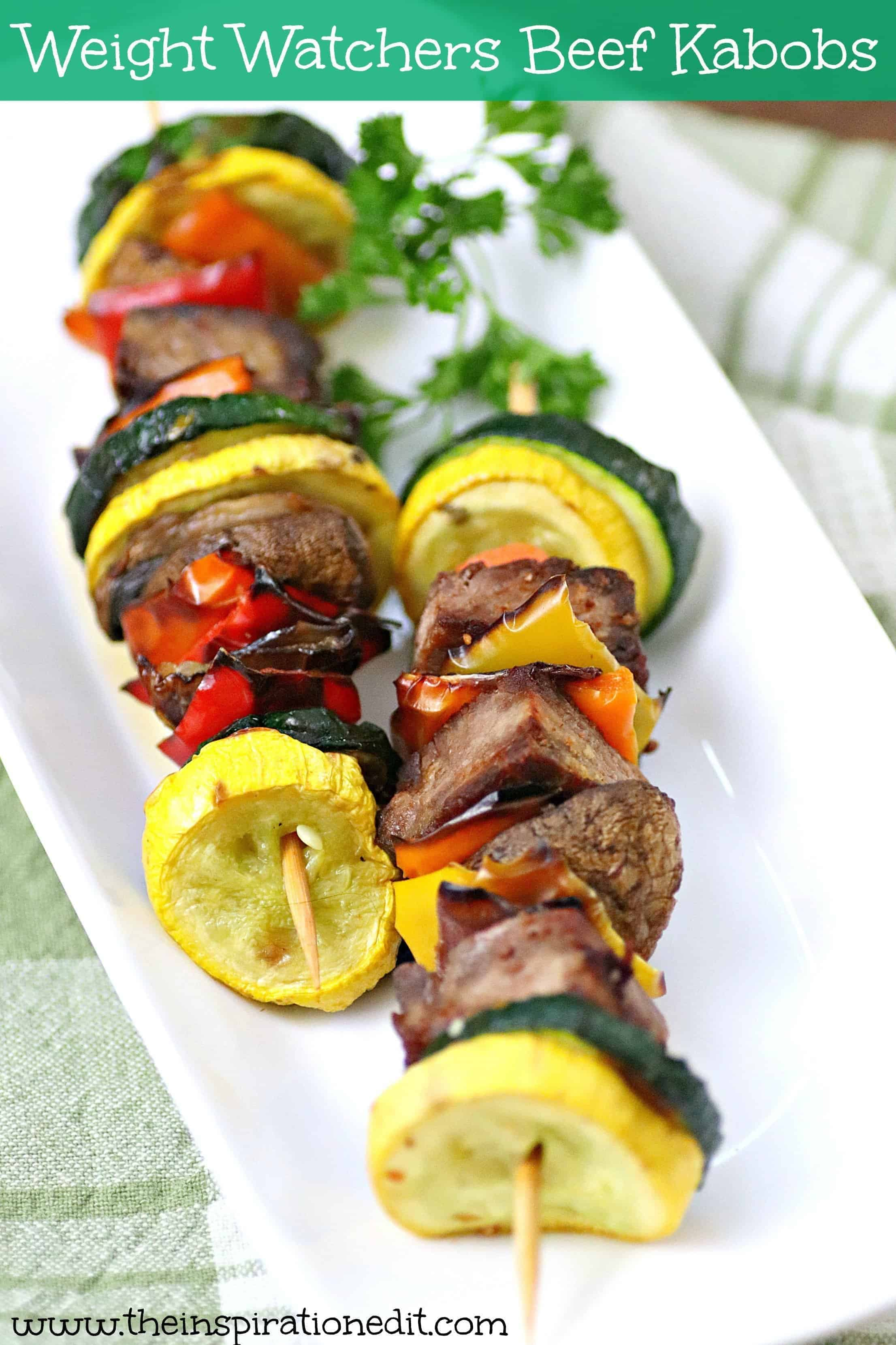 weight watchers steak kabobs recipe
