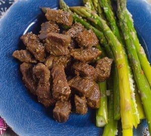 INSTant pot steak bites