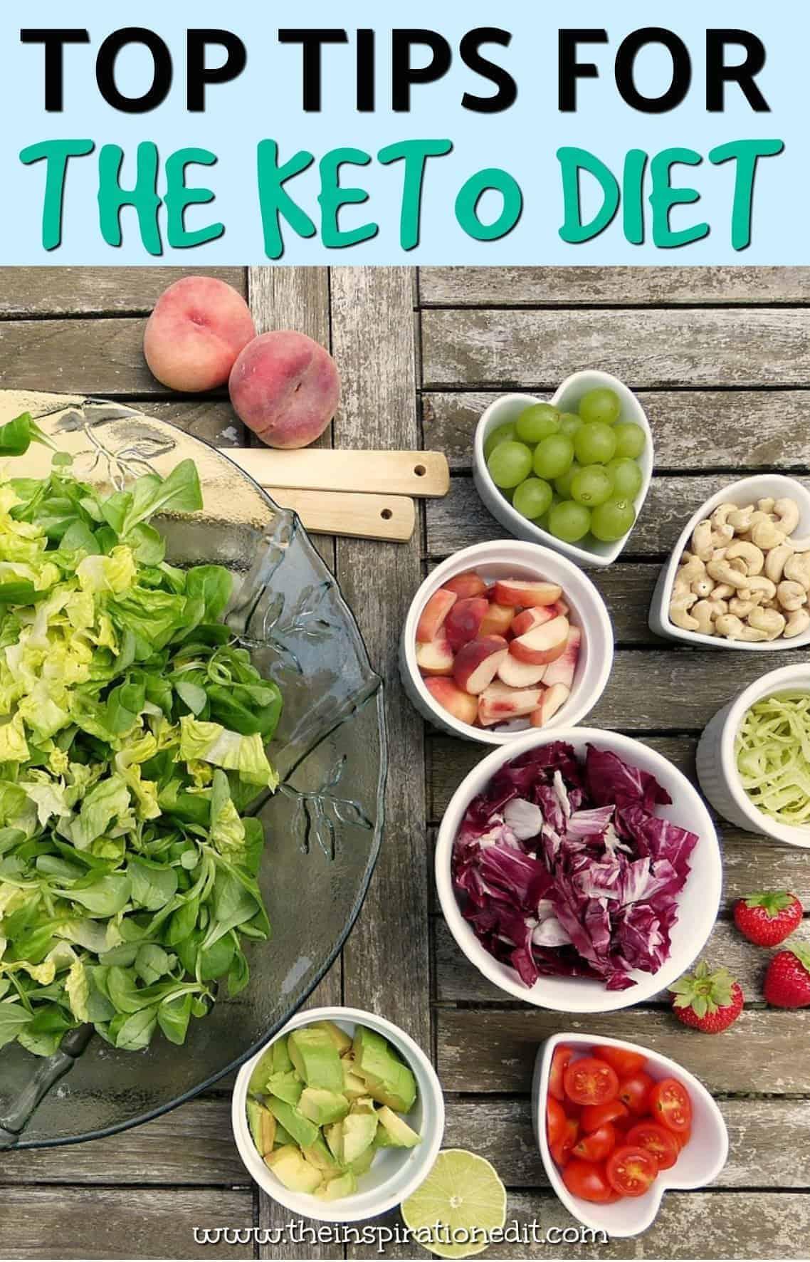 TIPS FOR KETO DIET