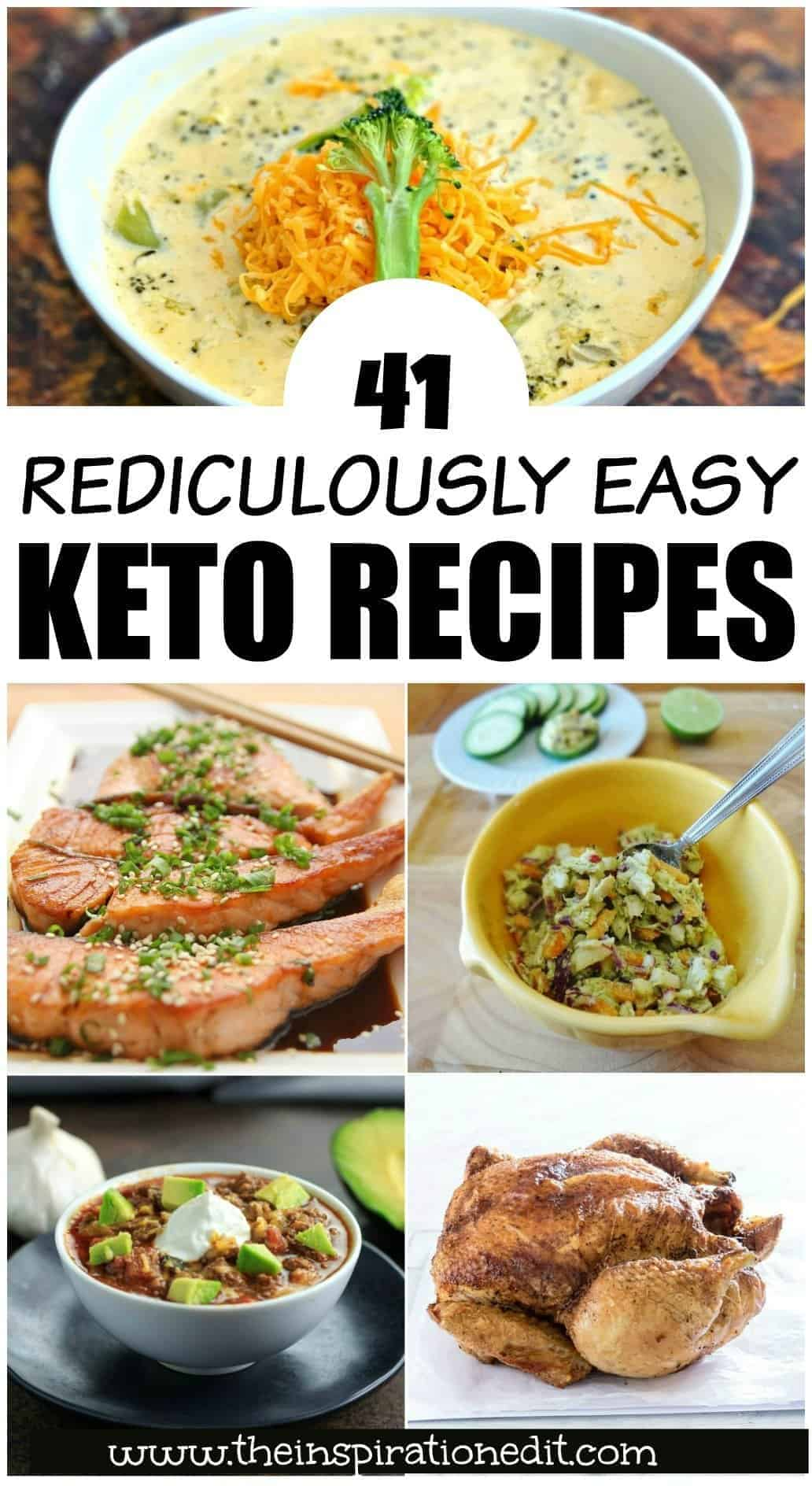 easy keto recipe ideas