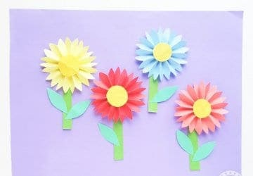 Daisy Paper Flower Craft