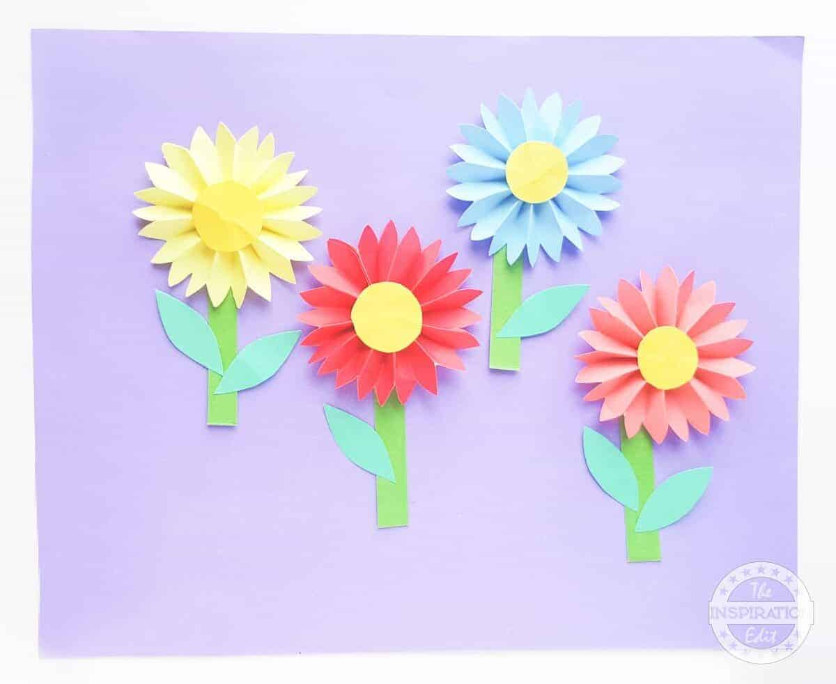 Daisy Paper Flower Craft