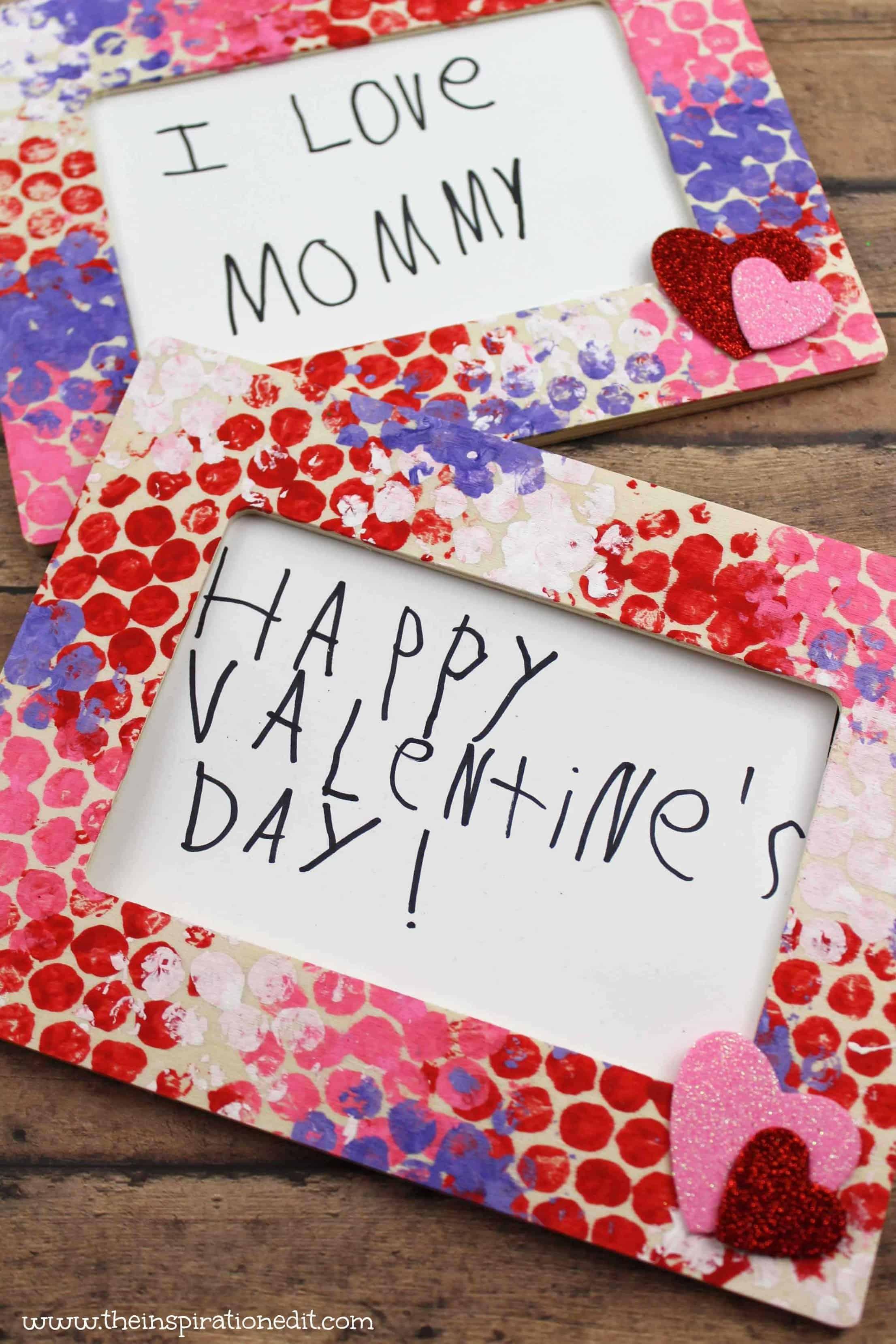 Valentines Bubble Art Gift