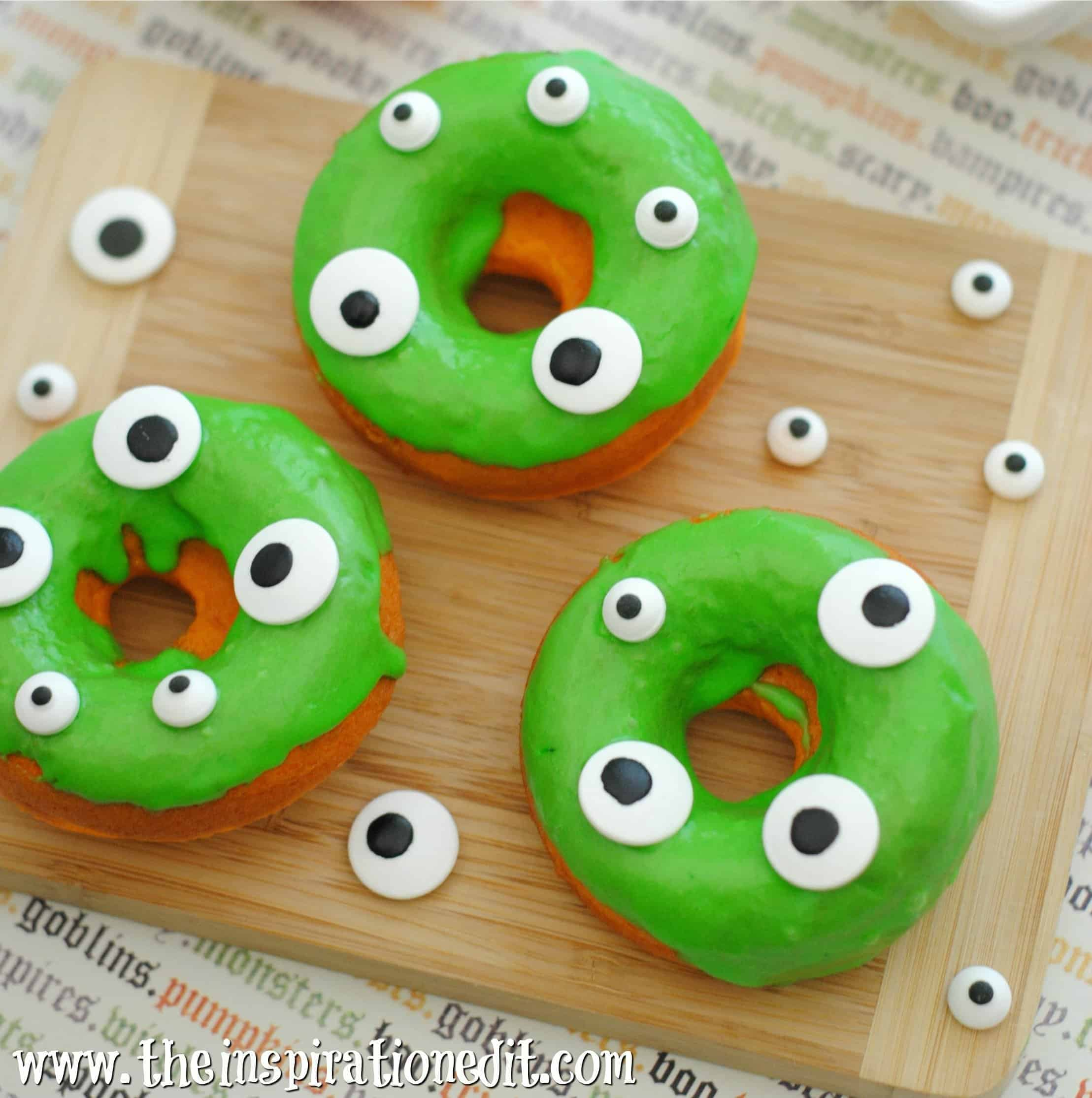 monster donuts for halloween
