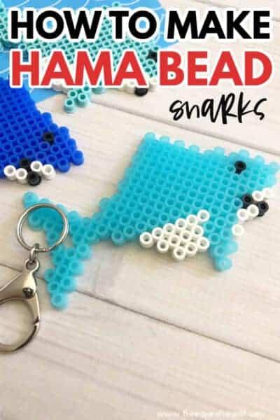 hama bead sharks