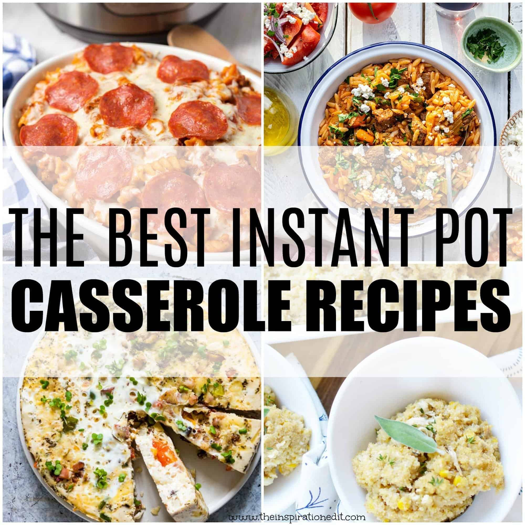 instant pot casserole recipes