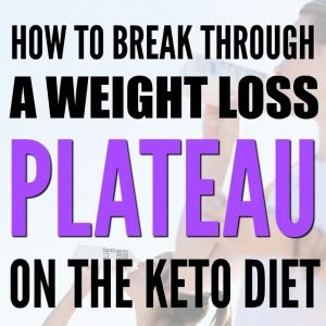 weight loss plateau on ketogenic diet