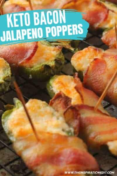 keto bacon jalapeno poppers