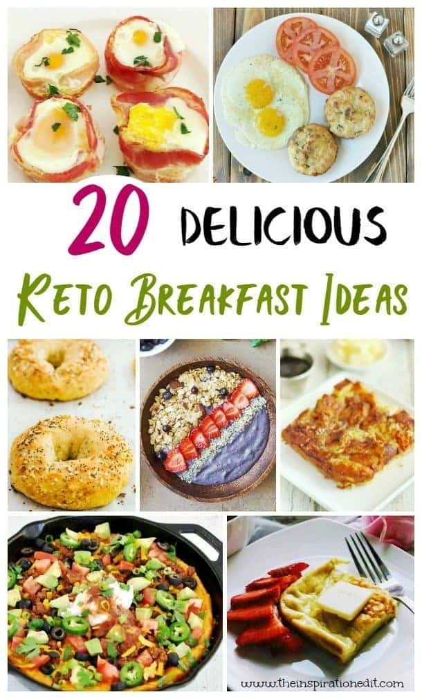 These keto diet breakfast recipes are delicious and simple to make! With breakfast being an important part of the day, you'll love these options!