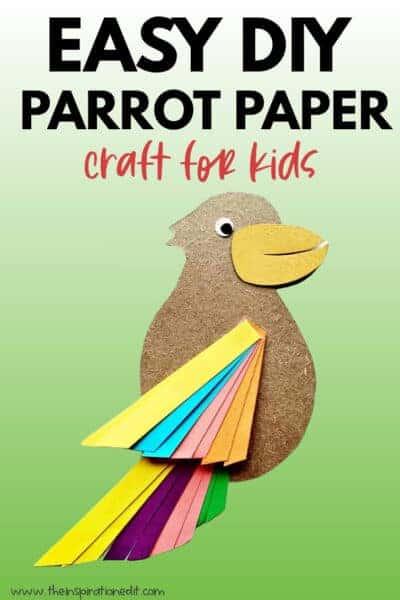 parrot paper craft