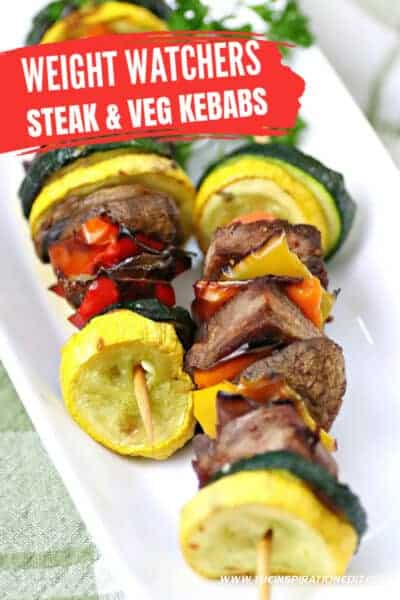 weight watchers steak and veg kebabs