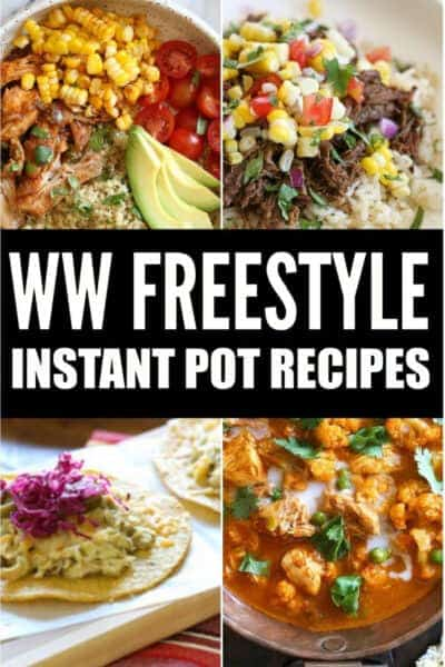 weight watchers instant pot recipes