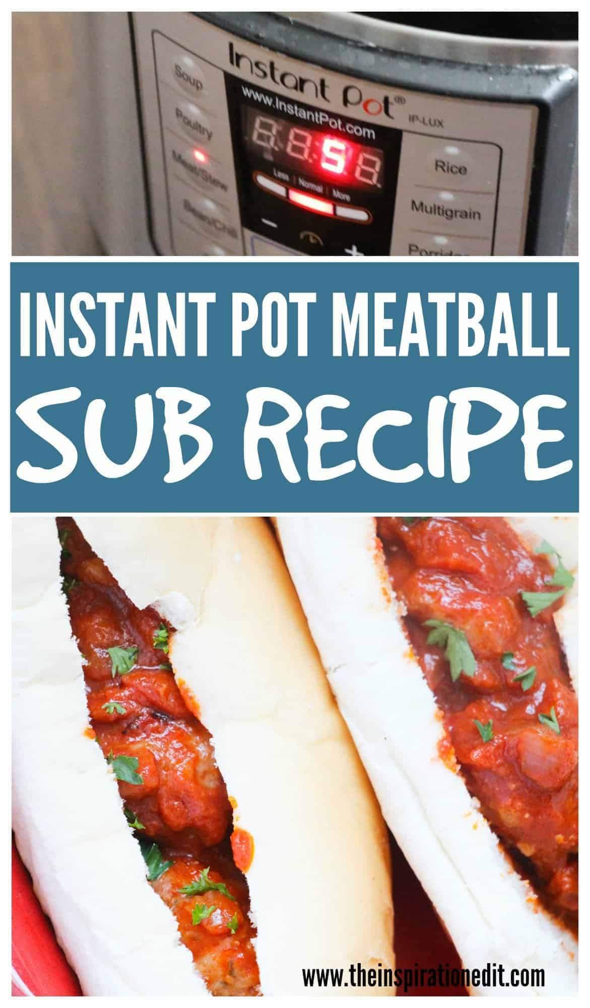 Instant Pot Meatballs Recipe