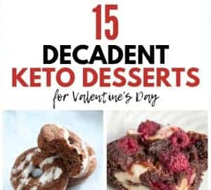 keto dessert recipes for valentines
