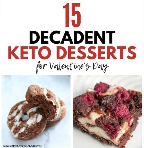 keto dessert recipes for valentines