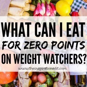 Weight Watchers Zero Point Foods List ideas