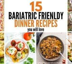 bariatric friendly dinner recipes