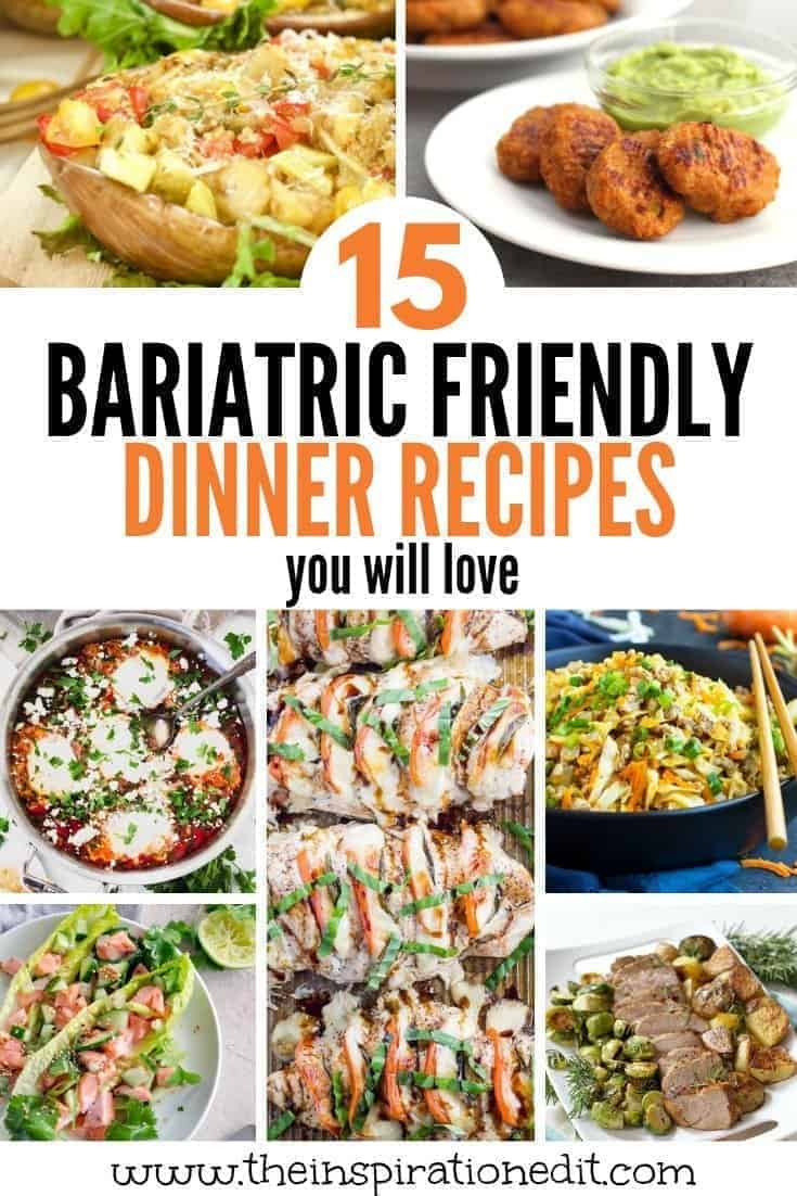 bariatric recipes for dinner