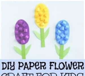 Hyacinth Flower Craft paper flower craft